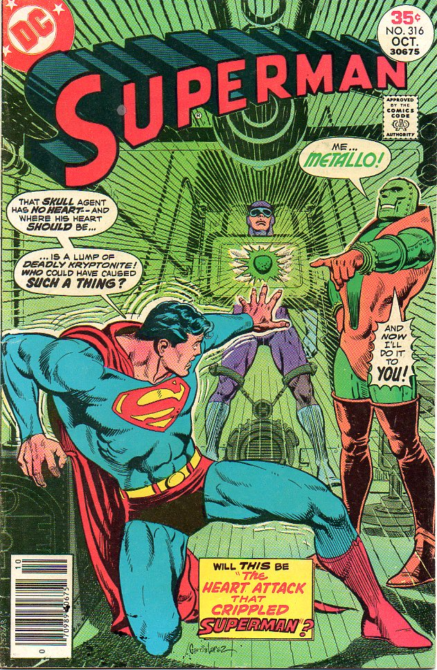 SUPERMAN (1939) #316 - PUTTING THE OLD BACK IN OLDBOX